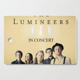LUMINEERS TOUR Cutting Board