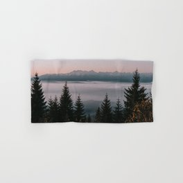 Faraway Mountains - Landscape and Nature Photography Hand & Bath Towel