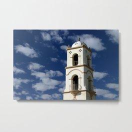 Ojai Post Office Tower Metal Print