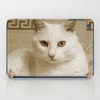 kitty iPad Cases featuring Kitty by Armine Nersisian