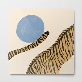 Jumping tigers  Metal Print