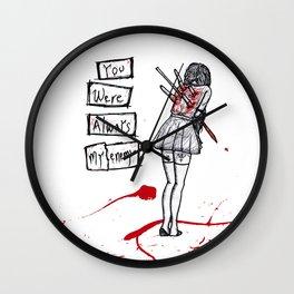 Backstabber Wall Clock