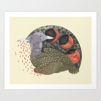 We Bit Our Tongues For You Art Print