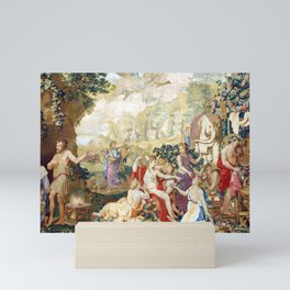 Giulio Romano The Festival of Psyche, with Mercury from a set of Mythological Subjects Mini Art Print