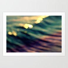Waveform Art Print