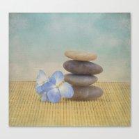 zen Canvas Prints featuring Zen by Kim Hojnacki Photography
