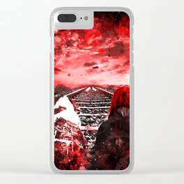 wanderlust ws2s Clear iPhone Case
