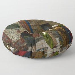 """Jean-Léon Gérôme """"Carpets - The Carpet Merchant"""" Floor Pillow"""