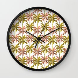 PalmSpring Wall Clock