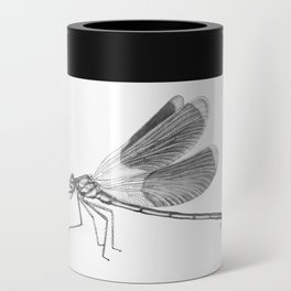 Dragonfly Illustration Can Cooler