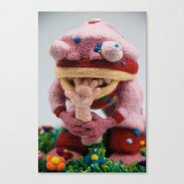 Tasty, Tasty Flesh Canvas Print