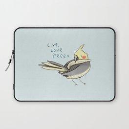 Live, Love, Preen Laptop Sleeve