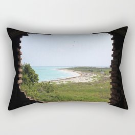 Escape From Reality Rectangular Pillow