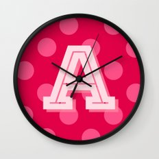 A is for Awesome Wall Clock