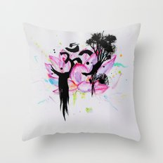 Namasté Throw Pillow