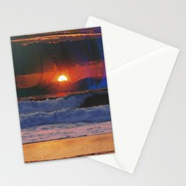 Deadly Waves Stationery Cards