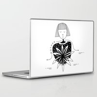 mother Laptop & iPad Skins featuring Mother by Bhavya Minocha