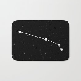 Aries Astrology Star Sign Bath Mat