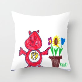 Care Bear's Easter Throw Pillow