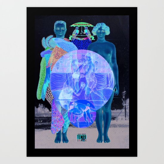 In Your World Of Two Art Print