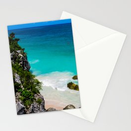 Beaches of Tulum Mexico Stationery Cards