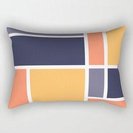 Bauhaus Abstract Pattern 07 Rectangular Pillow