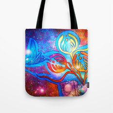 Cosmic Hummingnectar Tote Bag