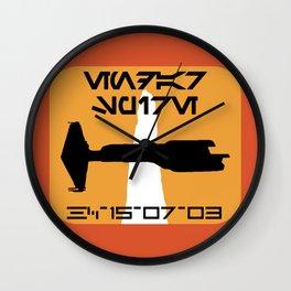 Endar Spire (KOTOR - Republic) Wall Clock