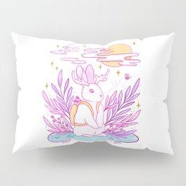 Plant Jackalope Pillow Sham