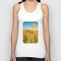 desert Tank Tops featuring Desert by Loop in the mind
