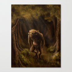 Pequenino & the Father Trees Canvas Print