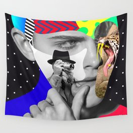 Shaughnessy Brown By Sebas Rivas Wall Tapestry