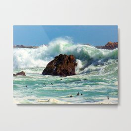 """Breakers at Gordon's Bay (iv)"" by ICA PAVON Metal Print"