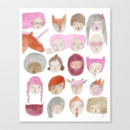 Hey Sugar! Canvas Print