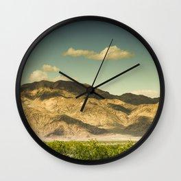 Landscape Joshua Tree 7368 Wall Clock