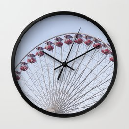 On the Ferris Wheel Wall Clock