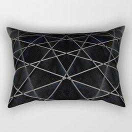 Quantum web Rectangular Pillow