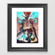Phase Framed Art Print