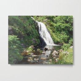 Assaranca Waterfall,Ireland Metal Print