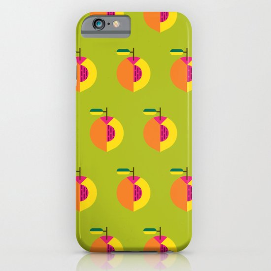 Fruit: Peach iPhone & iPod Case