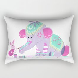 The Heffalump Rectangular Pillow