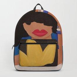 Unbothered (Blue) Backpack
