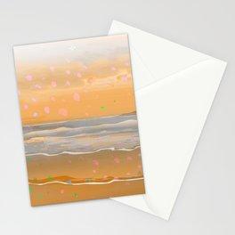 Peach Beach Memories Stationery Cards