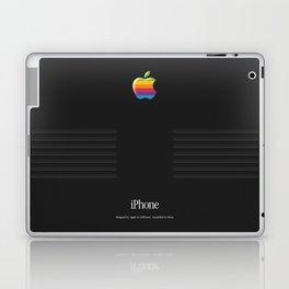 Luxury black vintage phone Laptop & iPad Skin