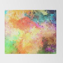 Rainbow Sherbert Throw Blanket