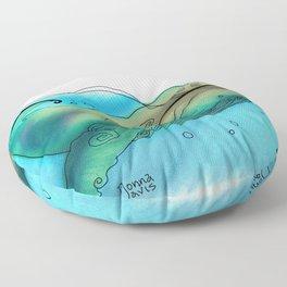Coffee or Sea Floor Pillow
