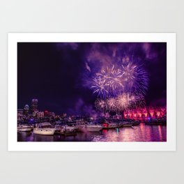 Happy Birthday America -1 Art Print