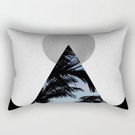 Tropical Mountain Rectangular Pillow