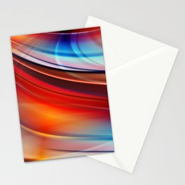 glowing Waves  Stationery Cards
