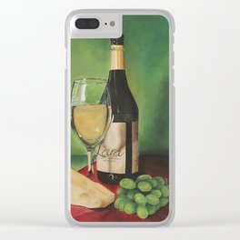 White wine, Still life Clear iPhone Case